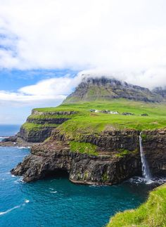 A Natural Masterpiece: Gasadalur & its Mulafossur Waterfall in the Faroe Islands – I am Aileen