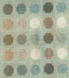 Mondo aqua fabric, by Melin Tregwynt, Welsh woolen mill  #color #pattern #textile