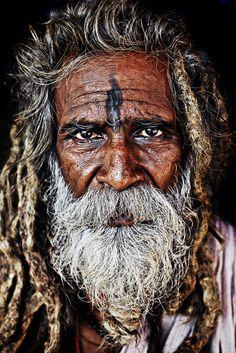 "Photo ""Sadhu"" by Rahul Karan this is an amazing face"