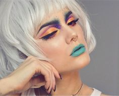 A few gorgeous looks by Swedish MUA, Linda Hallberg. I'll have fun practicing on these!