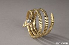 awesome Bracelet en or, diamant - Vers 1890