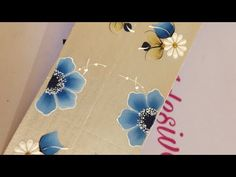 Foto Cartoon, Nail Art, Stickers, Nails, Floral, Flowers, Videos, Designed Nails, Pretty Nails