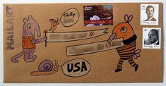 Mail Adventures: Creatures #snailmail #creativemail #snailmailinspiration #letters #mailart