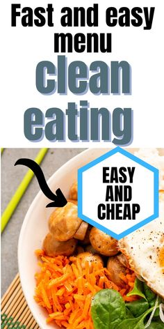 Learn how to eat healthier with this free clean eating 7 day meal plan. Includes breakfast, snack, lunch, and dinner for a full week. Printable PDF included