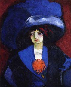 Kees van Dongen:  The Blue Hat (1910-1912)