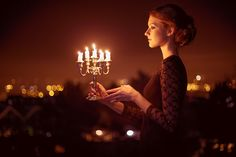 Photograph girl and candles by Maria Savina on 500px