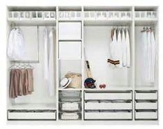 ikea wardrobe interior ideas