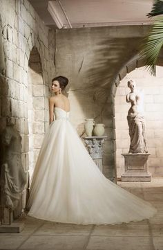 FTW Bridal Wedding Dresses Wedding Dresses Online, Wedding Dress Plus Size, Collection features dresses in all styles as well as more traditional silhouettes. Customize your bridal gown now! Tulle Wedding Gown, Tulle Ball Gown, Bridal Wedding Dresses, Ball Dresses, Ball Gowns, Wedding Attire, Mori Lee Bridal, Business Mode, Princess Bridal