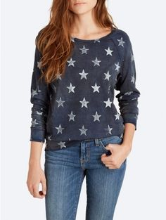 The Letterman Sweatshirt by Current/Elliott. Love the easy fit. Could even work with a skirt.