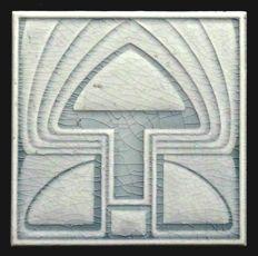 Boizenburg - Art Nouveau Tile