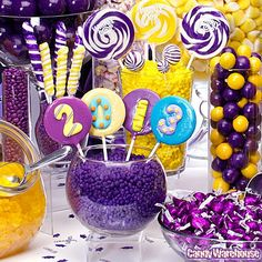 Graduation candy buffet, candy website to order favorite color buffet