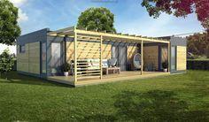 Dom modułowy Respiro (81,00 m2)