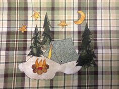 A Sweet Little Tent Applique  PDF Pattern by quiltdoodledesigns, $3.00