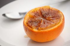 broiled oranges!  I've done this with grapefruit but I bet oranges taste like CANDY!  Could use coconut granules.