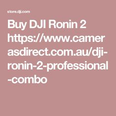 Shop for Ronin 2 Professional Combo on the official DJI Online Store. Find great deals and buy DJI products online with quick and convenient delivery! Dji Ronin 2, Dji Drone, Store, Larger, Shop