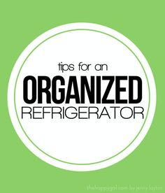 Do you struggle with keeping your refrigerator clean? Check out these great tips to help keep you organized. #organize #refrigerator #giveaway #studiofive #thehappygal
