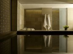 Designed by Australian architect Kerry Hill, Aman New Delhi houses 31 Aman Rooms and eight two-bedroom Aman Suites in a dramatic nine-storey structure, each offering its own private plunge pool, India