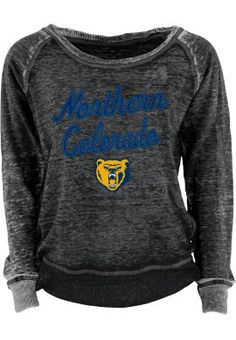 Product: University of Northern Colorado Bears Women's Burnout Crewneck Sweatshirt
