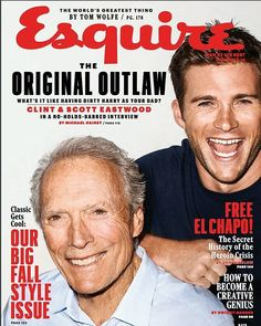 So proud to be on the cover of @esquire this month with my dad.  One of the proudest moments of my career so far.  Out today!!! Check out the link in my bio for the full article.  #makemyday