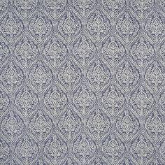 Rosemoor Sapphire  64% Poly /25% Visc. /11% Lin  143cm (useable 139cm)   39.4cm  Dual Purpose 20,000 rubs Stuart Graham, Prestigious Textiles, English House, Floral Theme, Damask, Digital Prints, Purpose, Upholstery, Colours