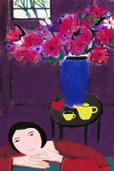 pinkpagodastudio: Barbara Perrine Chu