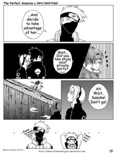 Sasusaku doujinshi - the perfect surprise 19