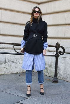 Get the Look: Street Style at Giambattista Valli, Hermes and Chanel
