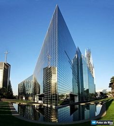 Catedral de Cristal en California de Philip Johnson