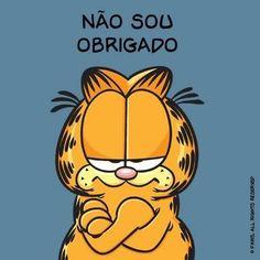 Quando pedem o último pedaço de alguma coisa. | 12 reações do Garfield que poderiam facilmente ter vindo de você