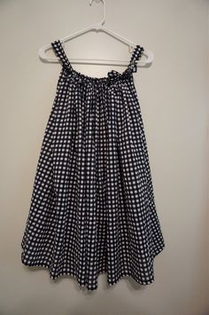 gingham nightgown | allie J. | alliemjackson.com