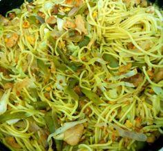 Chilli Garlic Chicken Noodles