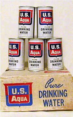"Nuclear Attack Survival Kit Water ""Impervious To Nuclear Fallout"""