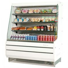 Turbo Air TOM40MSF 39 Medium Display Merchandiser with Efficient Refrigeration System Stainless Steel Front Panel Glass Sides AntiRust Coating BackGuard and Fluorescent Lighting ** Want additional info? Click on the image. (This is an affiliate link) #Refrigerators
