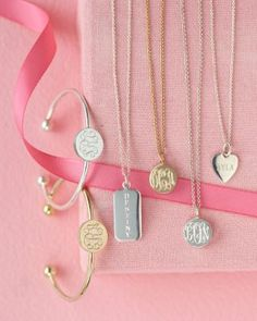 Personalized Jewelry Collection by Sarah Chloe - Garnet Hill