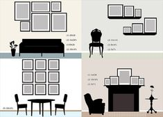 Top Ideas to Create a DIY Photo Gallery Wall Layouts | DIY and Crafts