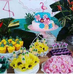 Créditos: @jessikatrindade @doce_nobre @helainemaranhao Ideias Criativas para Festa Flamingo