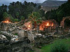 The ancient Roman hot spring at Hamat Gader