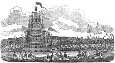 A 19th-century engraving, provenance unknown