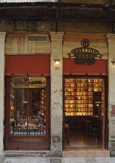 Brettos bar in Plaka, Athens