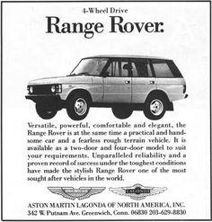 Range Rover US & Americas - Range Rover Classic