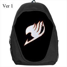 Fairy Tail, Back Pack, Anime, Manga, Erza, Scarlet, School Bag, Natsu, Schoolbag, Bag, School, Backpack, Anime Backpack, Fairytail, Cute Bag