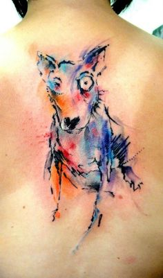 #watercolor #water #color #tattoo #tatuaggio #tattooidea #tattooart #tattooartist #ink #inked #inkmaster #tattooideas