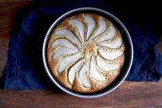 Sour Cream Cardamom Pear Cake • hands down the best cake of all time!