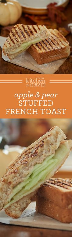 Liven Up Your Breakfast Routine With This Spiced Apple & Pear Breakfast Panini