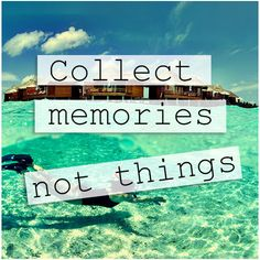 Collect #memories #travel