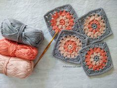 Good Cost-Free Crochet for Beginners granny square Strategies So you have made a. Good Cost-Free Crochet for Beginners granny square Strategies So you have made a decision in which for beginners learning granny squares for be Crochet Motifs, Granny Square Crochet Pattern, Crochet Squares, Crochet Blanket Patterns, Double Crochet, Crochet Stitches, Granny Square Tutorial, Crochet Doilies, Beginner Knitting Patterns