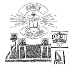 Confetti WEEKLY #9 week 6 - made by Madame Fourmilion
