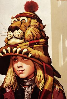 Concept art of Luna Lovegood for Harry Potter and the Half-Blood Prince.
