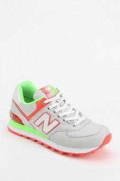 New Balance 574 Alpine Grey Running Sneaker #urbanoutfitters