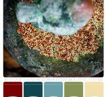 rich jewel tones color scheme
